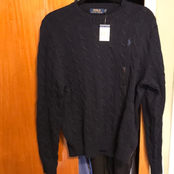 Nwt Polo Cable Knit Sweater Poshmark